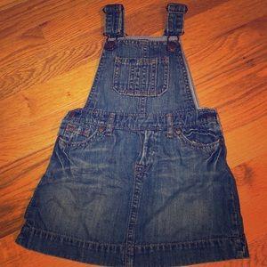 Never worn BabyGap Denim Overalls